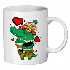 Кружка Влюбленный крокодильчик