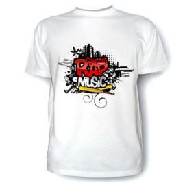 Футболка-Gangsta-Rap-Music