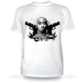 Футболка Tupac guns