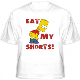 Футболка Eat my shorts!