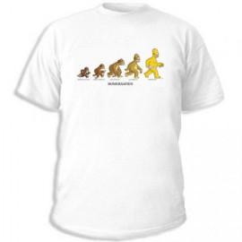 Футболка Simpsons homersapiens