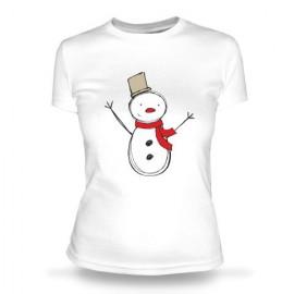 Футболка Снеговик 1