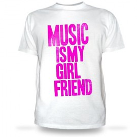 Футболка Musik is my Girlfriend