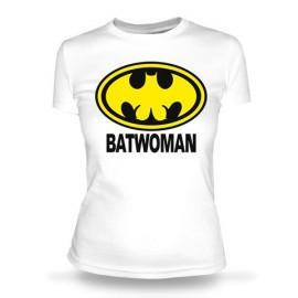 Футболка Batwooman белая
