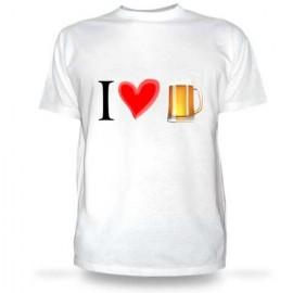 Футболка I love beer