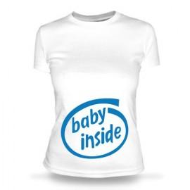 Футболка Пузожитеь Baby inside