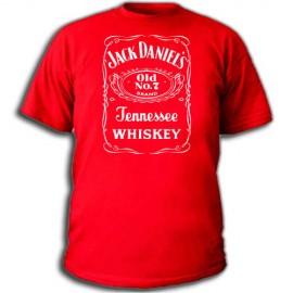 Футболка Jack Daniels (2) red