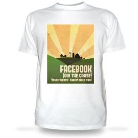 Футболка Фейсбук - присоединяйся