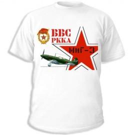 Футболка Гвардейский МиГ-3