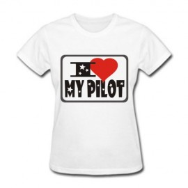 Футболка Я люблю своего пилота!