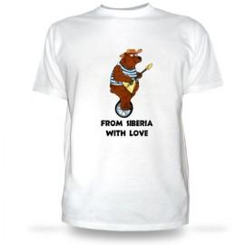 Футболка Медведь из Сибири