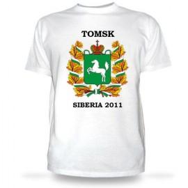 Футболка с гербом томской области