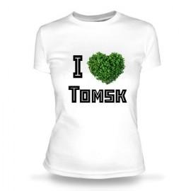 Футболка Я люблю Томск