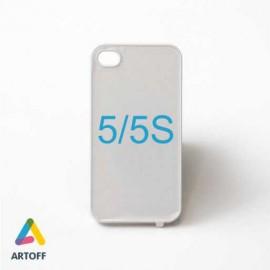 Чехол белый iphone 5/5s (материал пластик)
