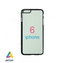 Чехол черный iphone 6 (материал пластик)