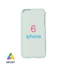 Чехол белый iphone 6 (материал пластик)