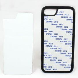 Чехол черный iphone 7/8 (силиконовый)