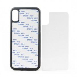 Чехол черный iphone X/XS (силиконовый)
