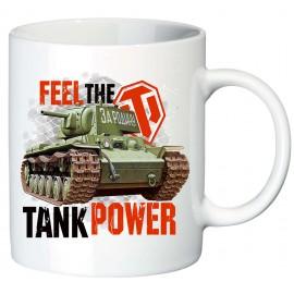 Кружка Игра Feel the Tank Power