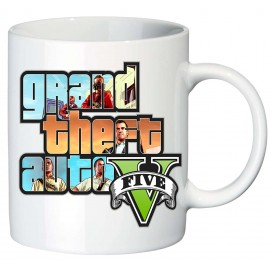 Кружка игра Grand theft Auto V2