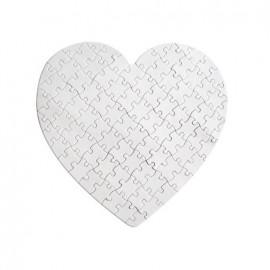 Пазл в виде сердца (19x19 см), 78 деталей
