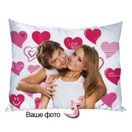 Подушка Happy Valentine