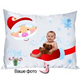 Подушка Дед мороз