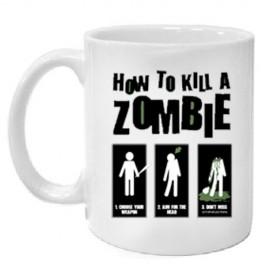 Кружка Как убить зомби