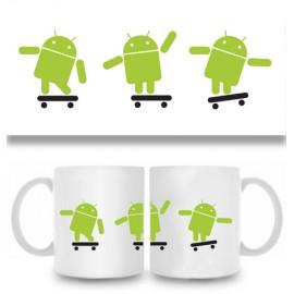 Кружка Андроид лого