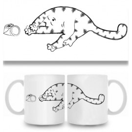 Кружка Кот и консервы