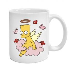Кружка Барт ангел